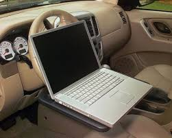 mobile laptop desk for car wheelmate laptop steering wheel desk patent pending desks and tech