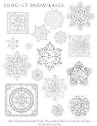 post draw intricate snowflakes it great ages special coloring