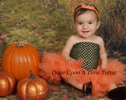 Girls Size 5 Halloween Costumes Pumpkin Tutu Dress Etsy