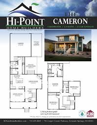 Energy Efficient Homes Floor Plans Colorado Springs Custom Home Builders Luxury Homes Gold Hill Mesa