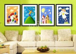 Aliexpresscom  Buy Decorative Painting Kids Room Wall Art - Painting for kids rooms