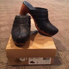 ugg australia clogs sale 64 ugg shoes ugg leather clogs vivica from s closet