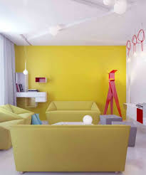 Yellow Accent Wall Yellow Walls With Red Accents Archives House Decor Picture