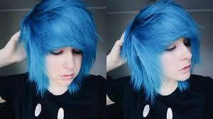 how to style short scene emo hair youtube