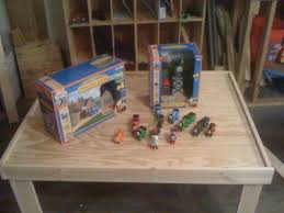 Thomas Train Table Plans Free by Simple Train Play Table 10 Steps With Pictures