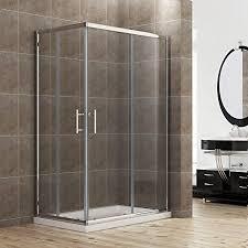 Shower Doors Brton 900 X 760mm Sliding Corner Entry Shower Enclosure Door Cubicle