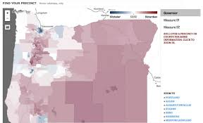 Election Interactive Map by Did Your Neighbors Vote For Marijuana Gmo Labeling John