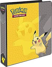 photo album 3 ring binder pikachu 3 ring binder card album 2 toys