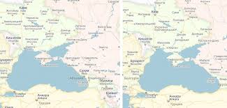 maps crimea russia crimean map choice between offending russia or ukraine
