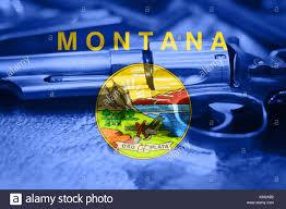 Montana State Flag State Flag Of Montana Stock Photos U0026 State Flag Of Montana Stock