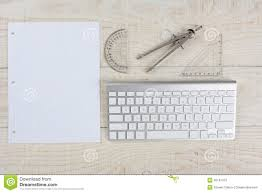 Writing On Graph Paper White Desk And Graph Paper Stock Photo Image 49197472
