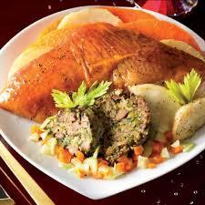 cuisiner un chapon farci chapon rôti farci aux foies de volaille esprit terroirs