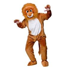 wizard of oz cowardly lion costume lion mascot king of the jungle animal book day mascot fancy