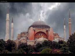 religious storm hagia sofia turkey sofa istanbul hagiasofia wide