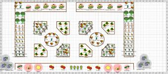 Beginner Vegetable Garden Layout by Large Backyard Garden House Design With Raised Bed Layout Plans