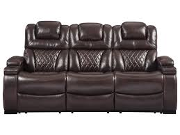 Powered Reclining Sofa Signature Design By Warnerton 7540715 Power Reclining Sofa