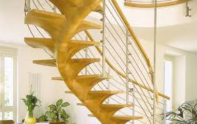 Helical Staircase Design Helical Stairs Made Of Glass Wood And Steel Individually Customized