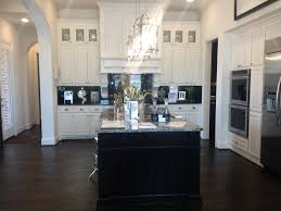 Brown And White Kitchen Cabinets Dark Brown Laminated Wooden Kitchen Cabinet Mixed White Flooring