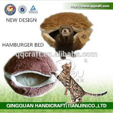 cat hamburger bed u0026 qqpet luxury pet dog bed u0026 burger bun pet cat