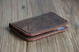mens travel wallet images Personalized mens leather credit card wallets leather bifold jpg