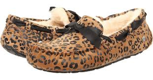 ugg boots sale belk lyst ugg dakota leopard bow in brown