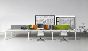 workstation desk oak contemporary commercial kiwi by