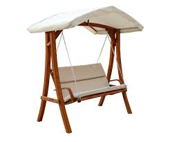 Kmart Canopies by Amazon Com Leisure Season Wswc102 Wooden Swing Seater With