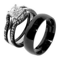 black wedding ring black wedding rings best photos page 2 of 14 stainless steel