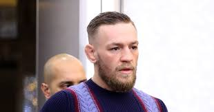 conor mcgregor hair ufc star conor mcgregor finally emerges from hotel after week of