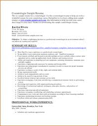 Esthetician Resume Template Download Resume Examples For Hairstylist Resume Example And Free Resume Maker