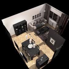 3d model floor plan living room 3d model interior table 3ds max fbx c4d ma mb obj ar vr