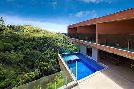 steep slope house plans sculptural concrete house built on a steep slope