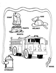 fire safety for kids coloring pages print coloring fire safety for