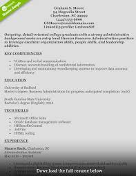 human resource management resume examples how to write a perfect human resources resume human resources resume graham