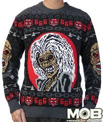 heavy metal sweaters iron maiden sweater