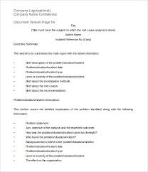 root cause report template root cause analysis template 26 free word excel pdf documents