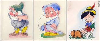 did adolf draw disney characters telegraph