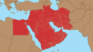 Middle East Country Map by Everyone In Middle East Given Own Country In 317 000 000 State