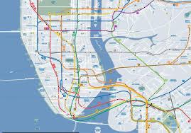 Map Nyc Subway Subway Map Of Nyc World Maps