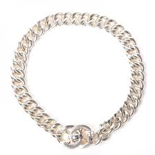 link necklace silver images Chanel chain link cc choker necklace silver 215433 jpg