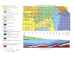 Map Of Ks Geology Natural History Of The Greater Kansas City Region