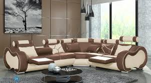 Wohnzimmer Einrichten Mit Schwarzem Sofa Alaska B Eckgarnitur Echtleder Pu Kunstleder Emoebel24