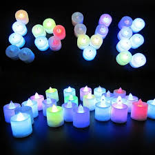 battery operated candles remote controlled led decorative lights