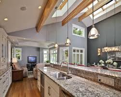 cathedral ceiling kitchen lighting ideas kitchen lighting ideas vaulted ceiling kitchen design vaulted
