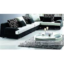 wholesale new arrival black durable fabric sofa set lc111611156