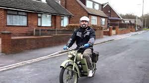bsa bantam d1 plunger motorcycle youtube