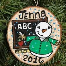 ornament personalized ornament snowman ornament