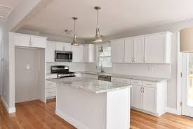 granite countertop countertops with white cabinets how to