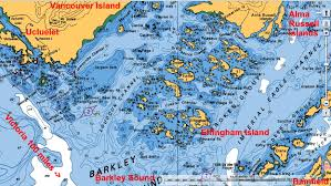 Sound Map M V Wild Blue Cruising Blog 43 Effingham Bay