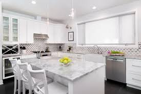 Backsplashes For White Kitchen Cabinets Whitewash Brick Backsplash Backyard Decorations By Bodog